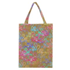 Flamingo pattern Classic Tote Bag