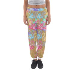 Flamingo pattern Women s Jogger Sweatpants