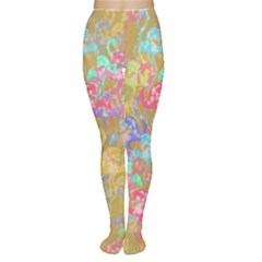 Flamingo pattern Women s Tights