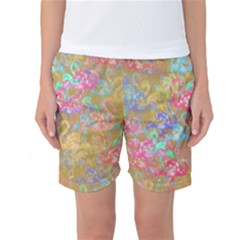 Flamingo pattern Women s Basketball Shorts