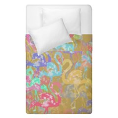 Flamingo pattern Duvet Cover Double Side (Single Size)