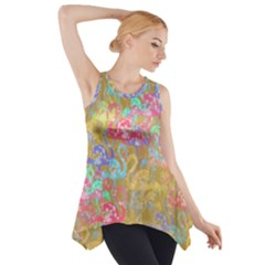 Flamingo pattern Side Drop Tank Tunic