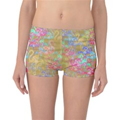Flamingo pattern Reversible Bikini Bottoms