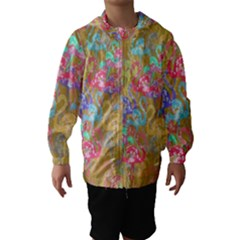 Flamingo pattern Hooded Wind Breaker (Kids)
