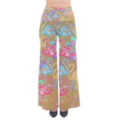 Flamingo pattern Pants