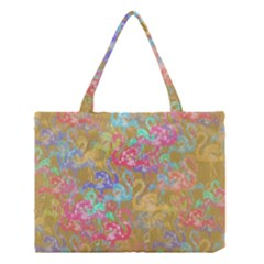 Flamingo pattern Medium Tote Bag