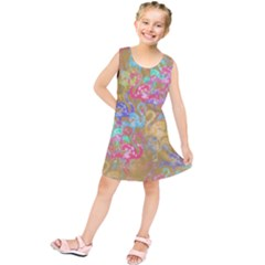 Flamingo pattern Kids  Tunic Dress