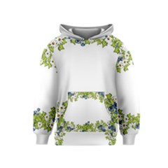 Birthday Card Flowers Daisies Ivy Kids  Pullover Hoodie
