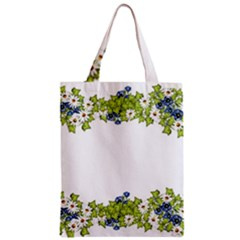 Birthday Card Flowers Daisies Ivy Zipper Classic Tote Bag