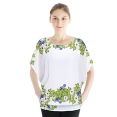 Birthday Card Flowers Daisies Ivy Blouse