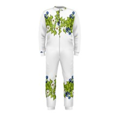 Birthday Card Flowers Daisies Ivy Onepiece Jumpsuit (kids)