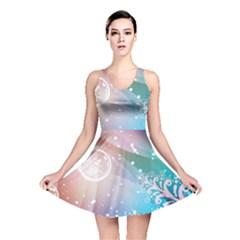 Christmas Reversible Skater Dress
