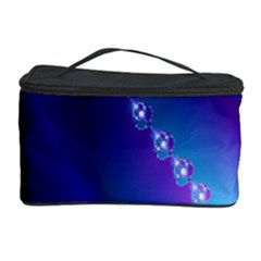 Flow Blue Pink High Definition Cosmetic Storage Case