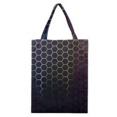 Hexagons Honeycomb Classic Tote Bag