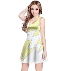 Lightning Yellow Reversible Sleeveless Dress