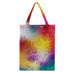 Multi Colour Alpha Classic Tote Bag