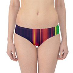Perfection Graphic Colorful Lines Hipster Bikini Bottoms