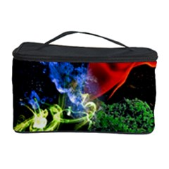 Perfect Amoled Screens Fire Water Leaf Sun Cosmetic Storage Case