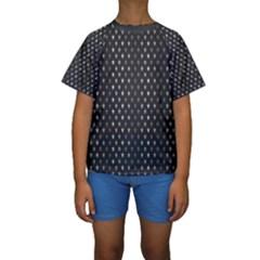 Rabstol Net Black White Space Light Kids  Short Sleeve Swimwear