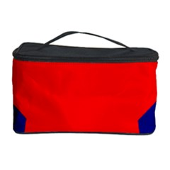 Stars Red Blue Cosmetic Storage Case