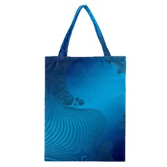 Fractals Lines Wave Pattern Classic Tote Bag