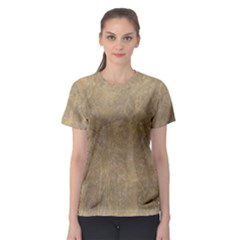 Abstract Forest Trees Age Aging Women s Sport Mesh Tee
