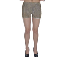 Abstract Forest Trees Age Aging Skinny Shorts