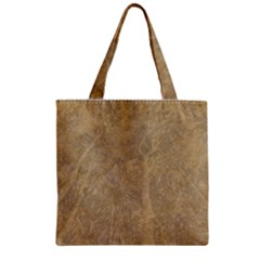 Abstract Forest Trees Age Aging Zipper Grocery Tote Bag