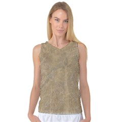Abstract Forest Trees Age Aging Women s Basketball Tank Top