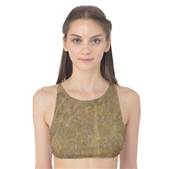 Abstract Forest Trees Age Aging Tank Bikini Top