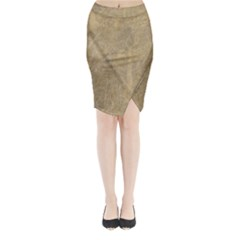 Abstract Forest Trees Age Aging Midi Wrap Pencil Skirt