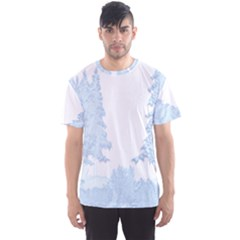 Winter Snow Trees Forest Men s Sport Mesh Tee