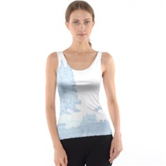 Winter Snow Trees Forest Tank Top