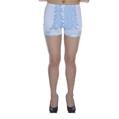 Winter Snow Trees Forest Skinny Shorts