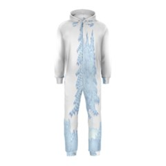 Winter Snow Trees Forest Hooded Jumpsuit (kids)