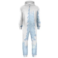 Winter Snow Trees Forest Hooded Jumpsuit (Men)