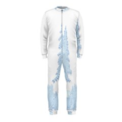 Winter Snow Trees Forest OnePiece Jumpsuit (Kids)