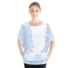 Winter Snow Trees Forest Blouse