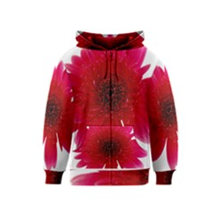Flower Isolated Transparent Blossom Kids  Zipper Hoodie