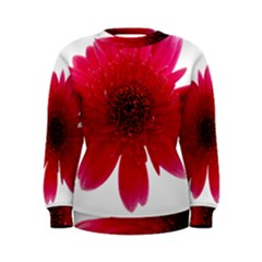 Flower Isolated Transparent Blossom Women s Sweatshirt