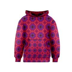 Retro Abstract Boho Unique Kids  Pullover Hoodie