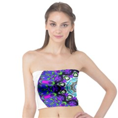 Graphic Isolated Mandela Colorful Tube Top