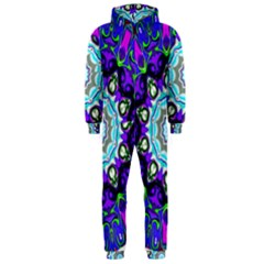 Graphic Isolated Mandela Colorful Hooded Jumpsuit (men)