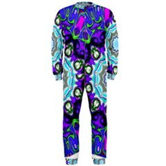 Graphic Isolated Mandela Colorful OnePiece Jumpsuit (Men)