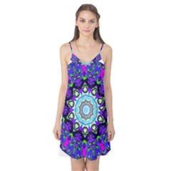 Graphic Isolated Mandela Colorful Camis Nightgown