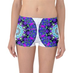 Graphic Isolated Mandela Colorful Reversible Bikini Bottoms