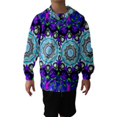 Graphic Isolated Mandela Colorful Hooded Wind Breaker (kids)