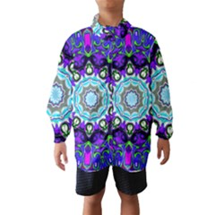 Graphic Isolated Mandela Colorful Wind Breaker (Kids)