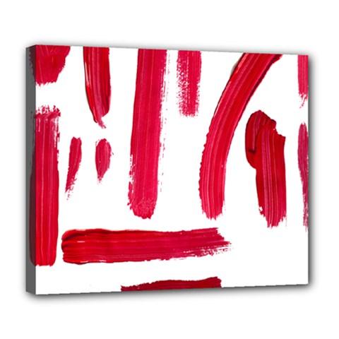 Paint Paint Smear Splotch Texture Deluxe Canvas 24  X 20