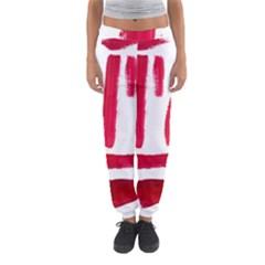 Paint Paint Smear Splotch Texture Women s Jogger Sweatpants